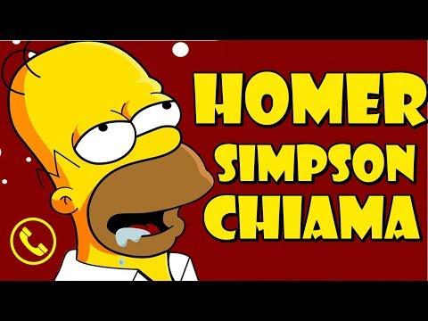HOMER SIMPSON CHIAMA ...