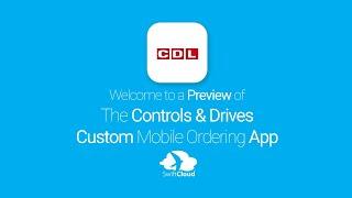 Controls & Drives - Mobile App Preview - CON021W