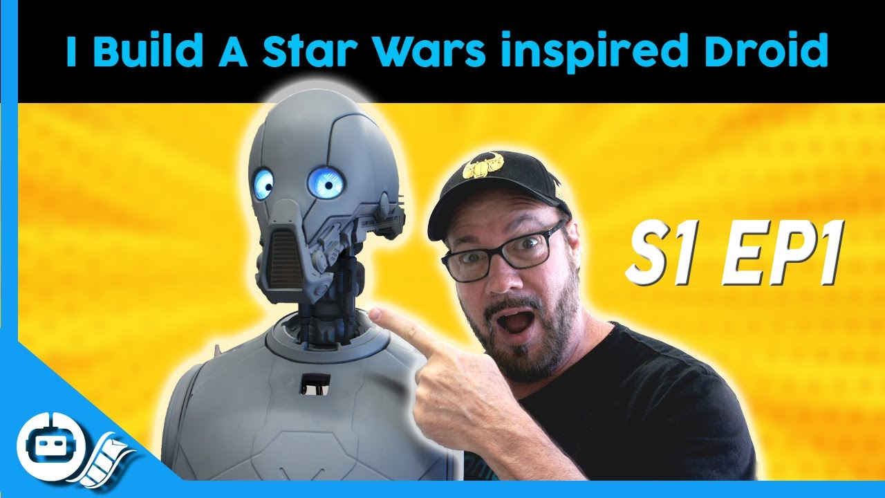 Building A Star Wars Inspired Droid