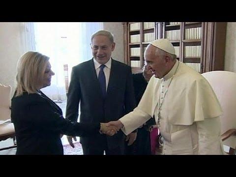 Israeli PM Netanyahu meets Pope Francis at Vatican