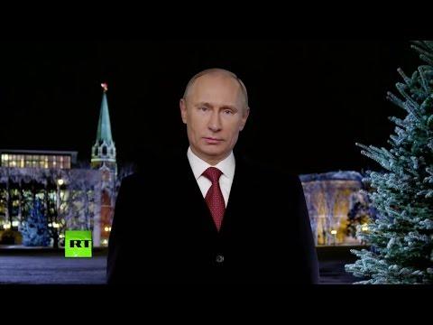 Новогоднее обращение Путина 1999-2013 - Познавательные и прикольные видеоролики