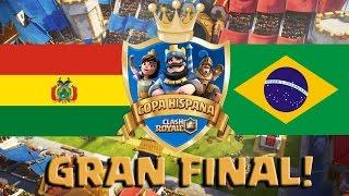 RESUMEN Copa Hispana: Bolivia VS Brasil - final - Clash Royale