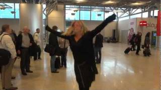 Kangoo Jumps take on Helsinki Airport