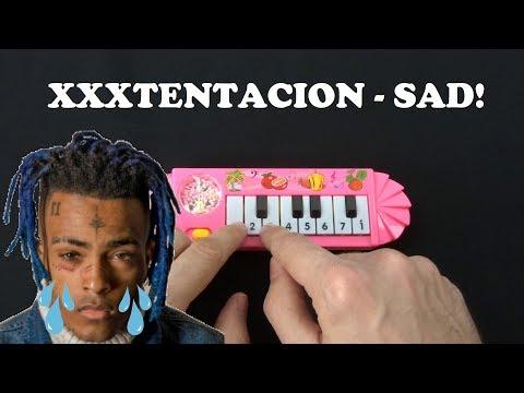 XXXTentacion - SAD! (1$ Piano VS Cat Piano,Chicken VS Balloon VS Otamatone)
