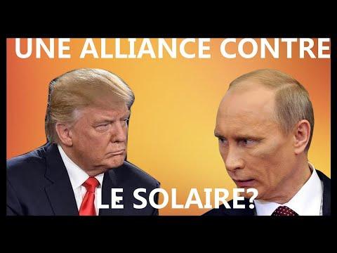 Donald Trump et la Russie: une alliance contre l'énergie solaire?