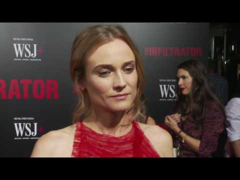 The Infiltrator: Diane Kruger Movie Premiere Interview