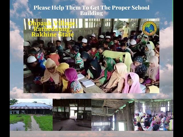 Save Rohingya - 6th School in Rakhine State
