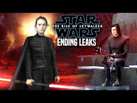 INSANE The Rise Of Skywalker Ending Leaks! WARNING (Star Wars Episode 9)
