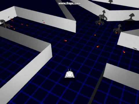 bullet-hell roguelike – first preview