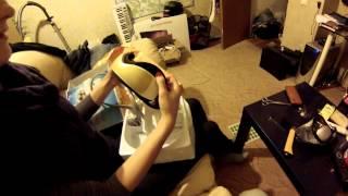 Вибро массажер для глаз из Китая (ОБЗОР)!