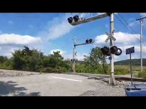 Norfolk southern mixed freight in Cleveland Tennessee