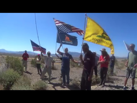 The Torture of Ammon Bundy at Private For Profit Prison, Visit to Camp Liberty