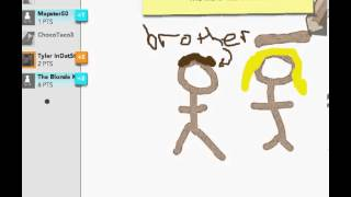 Michael And Shawn play Draw my thing!!