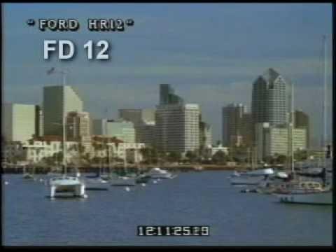 San Diego - California - Skyline - Harbor - Marina - Best Shot Footage - Stock Footage