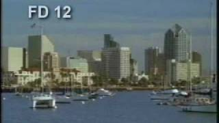 San Diego - California - Skyline - Harbor - Marina - Best Shot Footage - Stock Footage