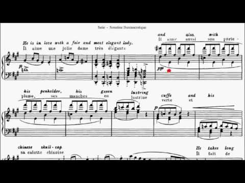 LCM Piano 2018 2020 Grade 8 List A7 Satie Sonatine Bureaucratique Sheet Music