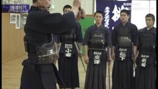 剣道時代 2016年8月号付録DVD「古川和男範士の稽古指導」ダイジェスト