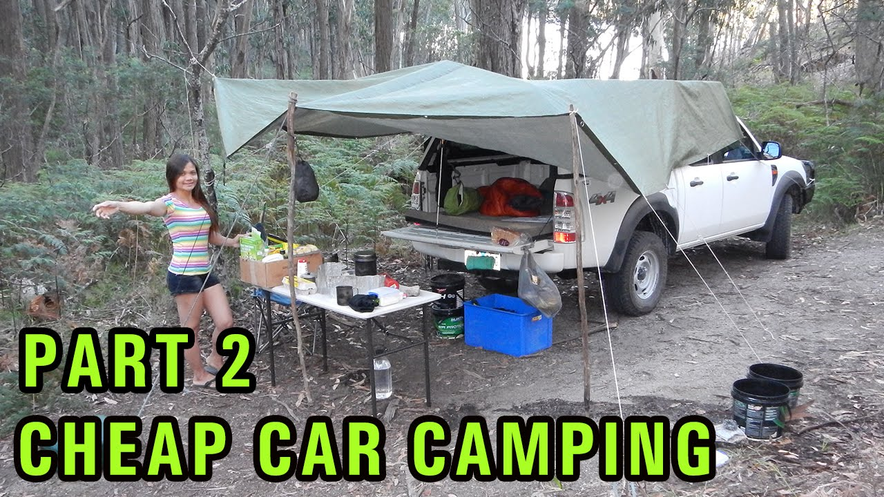 Cheap DIY Car Camping Setup Part 2