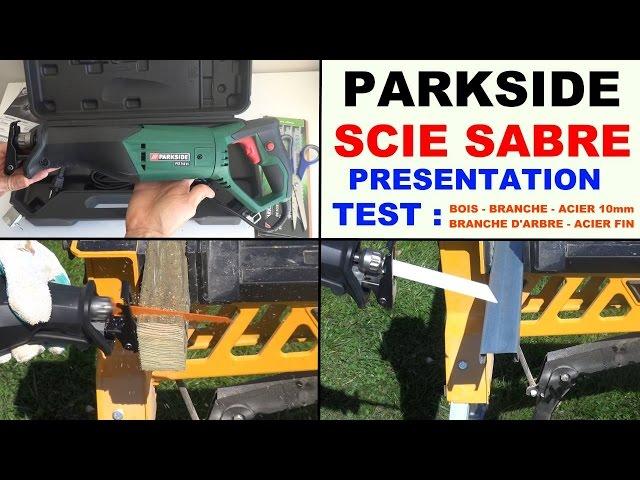 Garden Tools Scie Sabre Parkside Pfs 710 B1 Lidl Saw