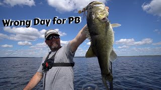 Billy's PB on the Wrong Day - FLW Tour Harris Chain Practice
