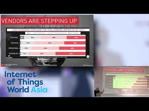 CRA's IoT Keynote at Internet of Things World Asia