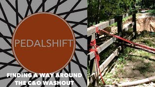 Finding a way around the C&O washout