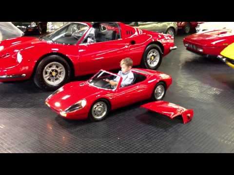 Porsche 904 Carrera GTS electric kid car test drive