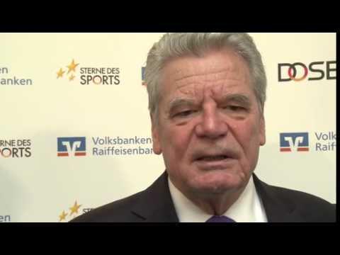 """Bundespräsident überreicht """"Großen Stern des Sports"""" in Gold an Verein aus Bayern"""
