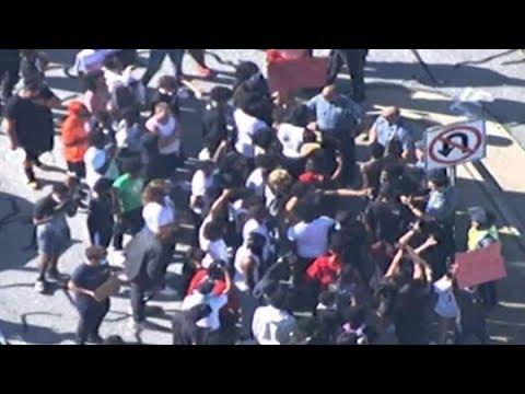 LIVE VIEW | Protests In Metro Atlanta Continue Into Saturday Evening