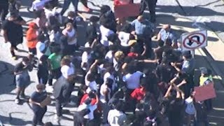 LIVE VIEW | Protests in metro Atlanta continue into Saturday evening