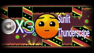 (Geometry Dash) Sunlit thunderscape