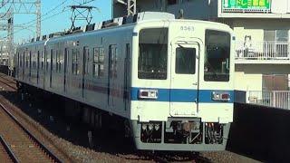 【大師線増発送り込み回送】東武8000系8565F回送通過