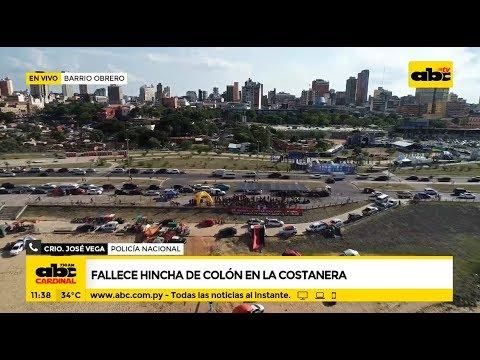 Fallece un hincha de Colón en Asunción