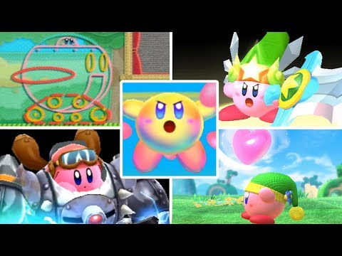 Evolution of Kirby Superpowers (2010 - 2018)