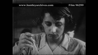 Kalmyk people in Germany, 1950's.  Archive film 96299