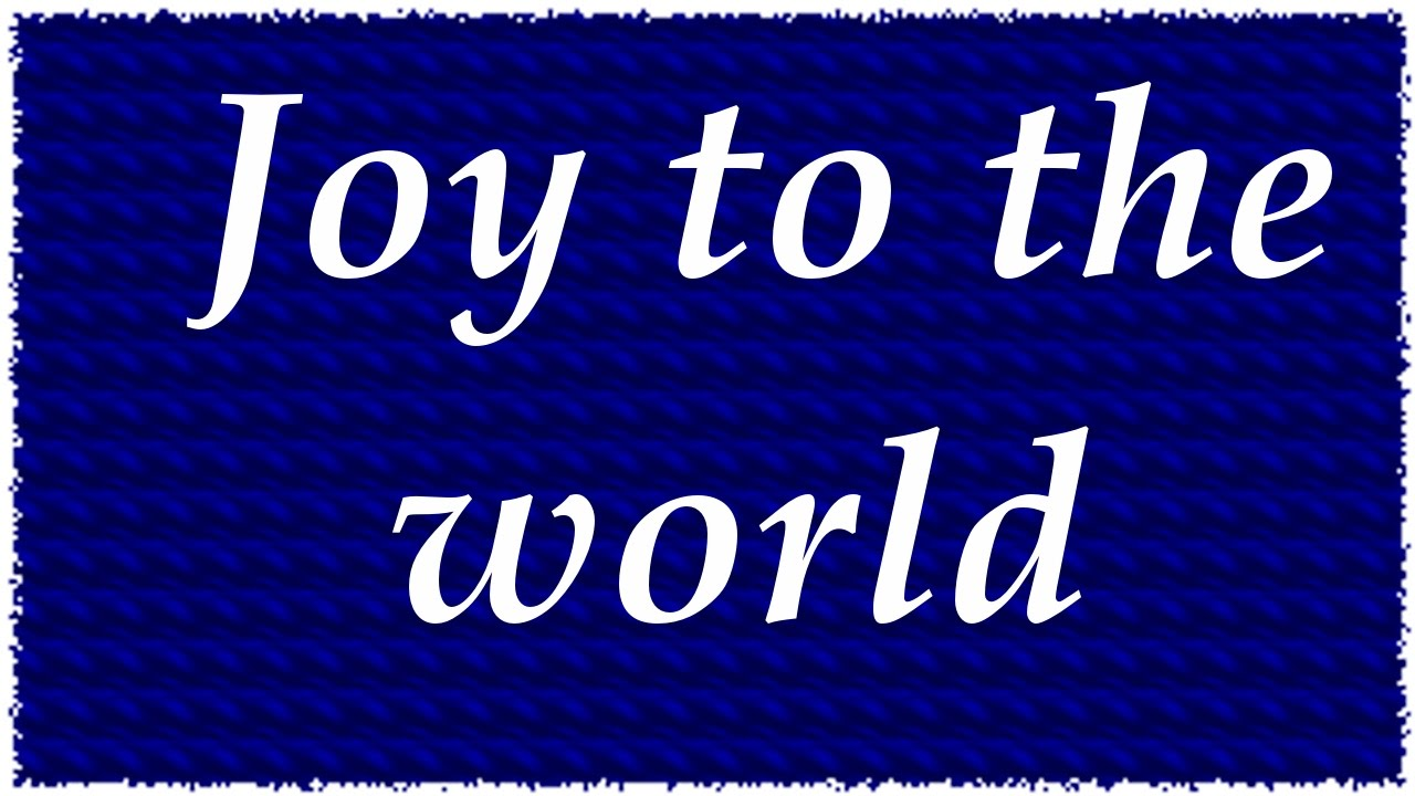 Joy to the World - Christmas Song with Lyrics | QPT - YouTube