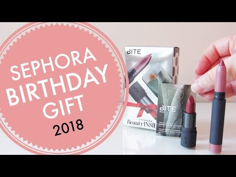 Sephora Beauty Insider Birthday Gift 2018 Edition