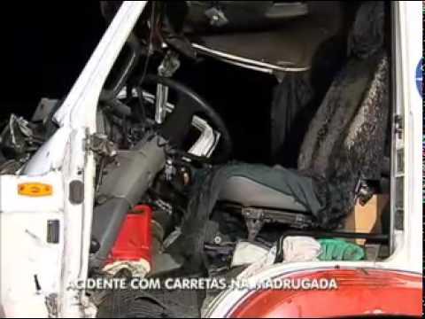 Acidente Com Carretas Na Rodovia Dos Bandeirantes Mata Uma Pessoa Em SP