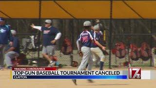 Top Gun baseball tournament canceled in Clayton