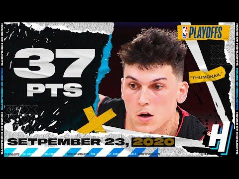 Tyler Herro 37 Pts Full Game 4 Highlights | Celtics vs Heat | September 23, 2020 NBA Playoffs