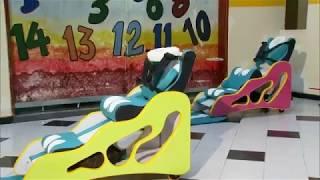 Kit de rehabilitación para niños con parálisis cerebral RCN MUY BUENOS DÍAS