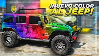 EL NUEVO COLOR DE MI JEEP | ManuelRivera11