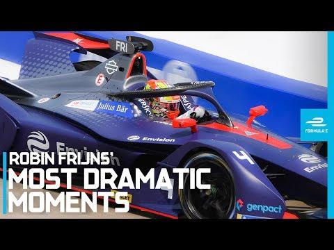 10 Dramatic Moments Which Have Defined Robin Frijns' Season | ABB FIA Formula E Championship