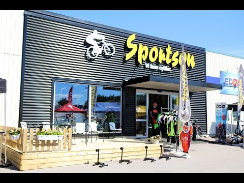 Sportson shop in Motala.