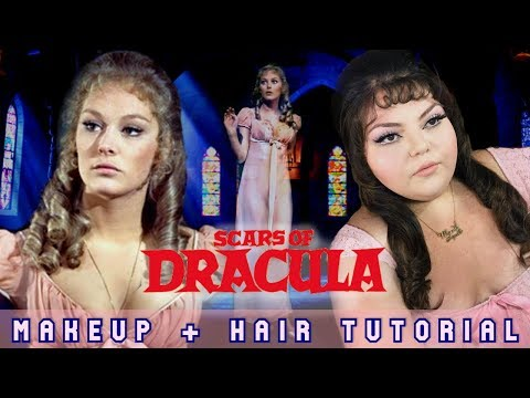 "Playing Dress Up || Hammer Glamour🕯🥀⚰️ ""Scars of Dracula (1970)"" Makeup + Hair Tutorial thumbnail"