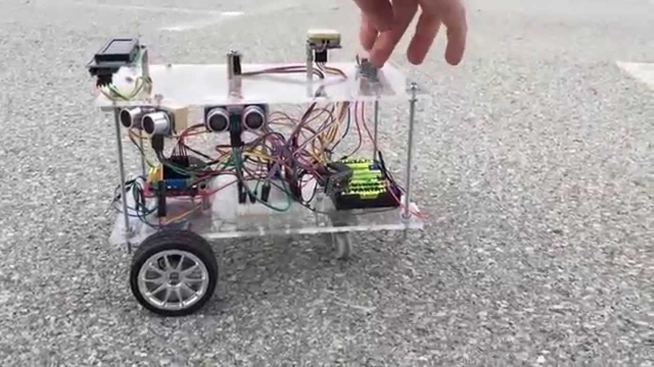 Arduino usv robot with gps and compass test youtube