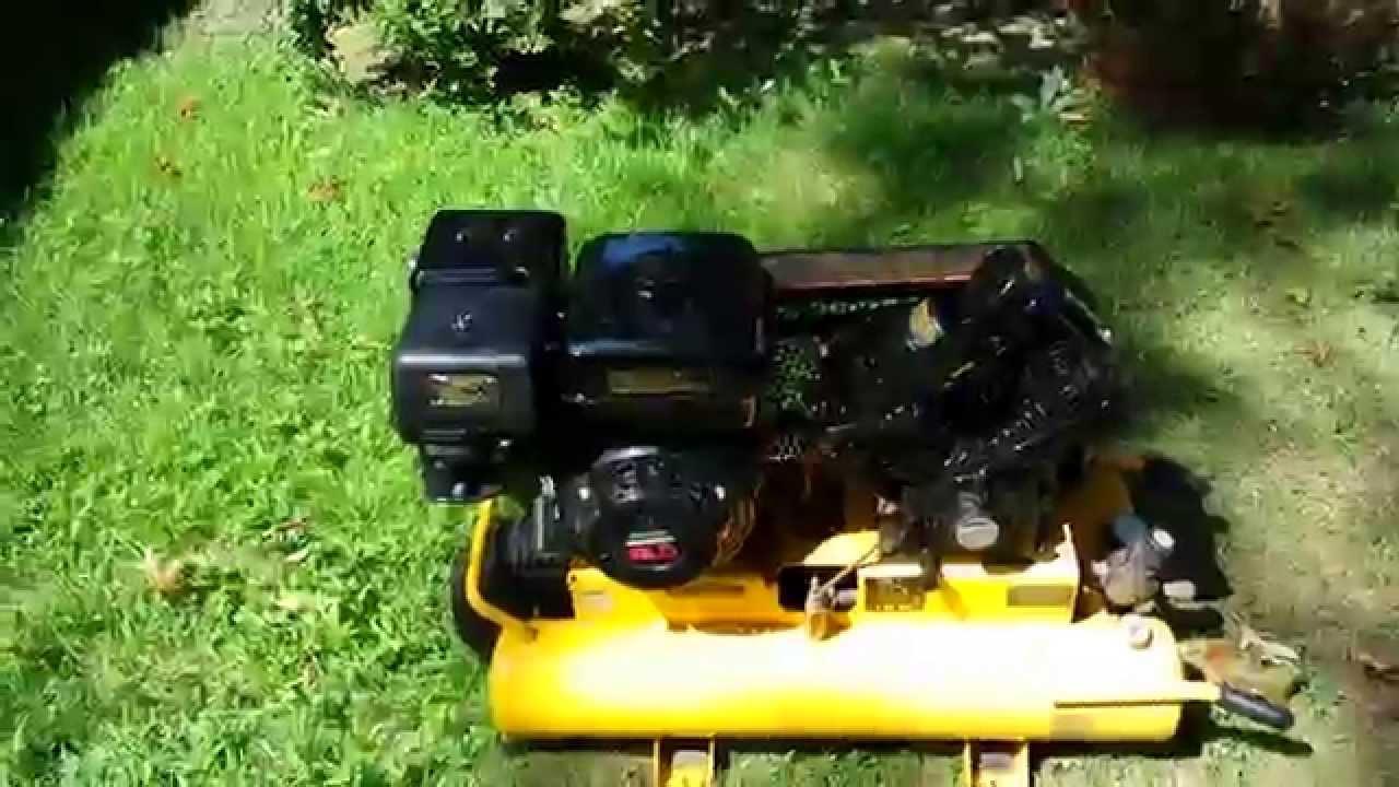 Dewalt D55271 8 Hp 8 Gallon Gas Wheeled Portable Air