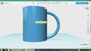 Extruding, Merging and Spliting in 123D Design