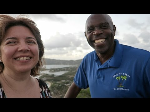 Tour of the Island of Antigua with Barry Taxi