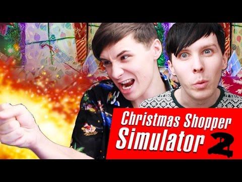 Dan and Phil play CHRISTMAS SHOPPER SIMULATOR 2